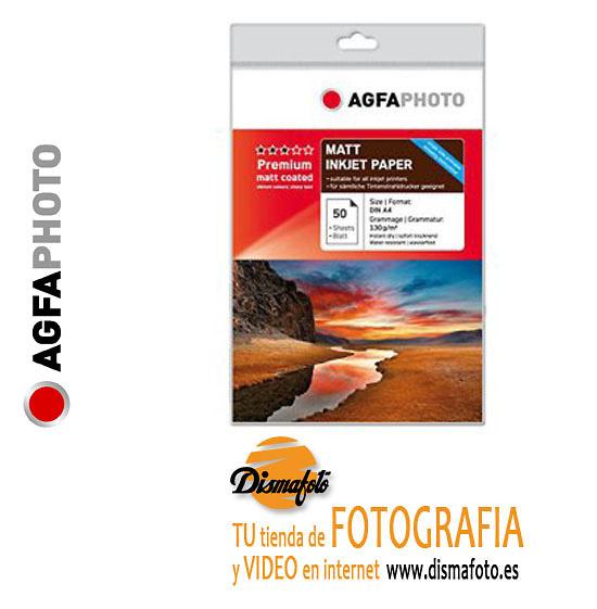 AGFAPHOTO PAPEL130 GR A4 50 HOJAS MATT COATED