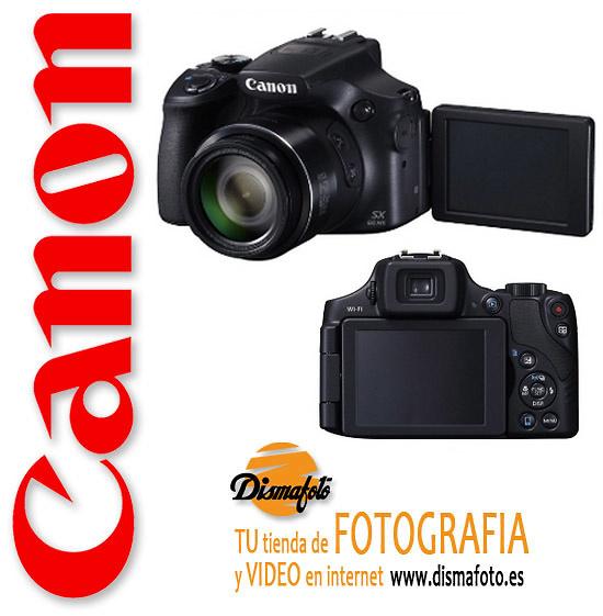 CANON CAM. D. POWERSHOT SX 60 HS