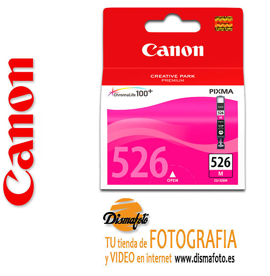CANON CART.TINTA CLI-526 MAGENTA