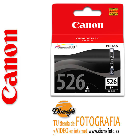 CANON CART.TINTA CLI-526 NEGRA
