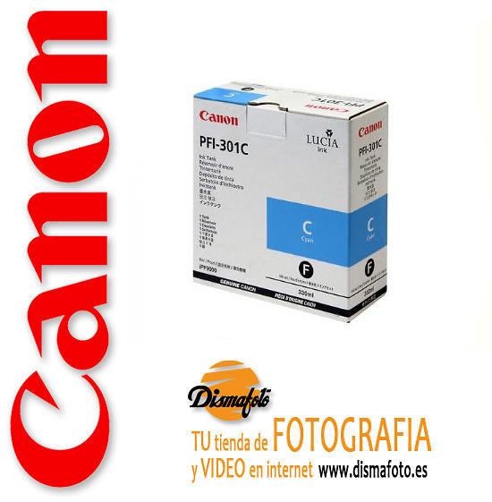 CANON CART.TINTA PFI-301 CYAN 330ML