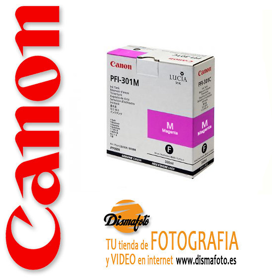CANON CART.TINTA PFI-301 MAGENTA 330ML