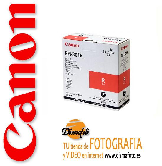 CANON CART.TINTA PFI-301 RED 330ML
