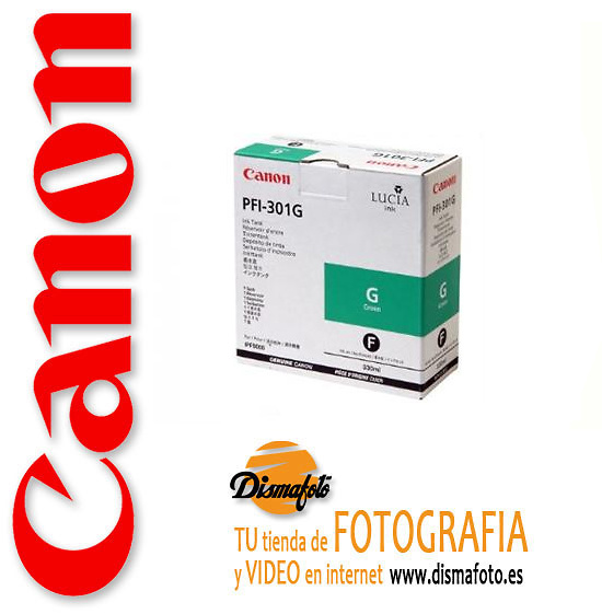 CANON CART.TINTA PFI-301 VERDE 330ML