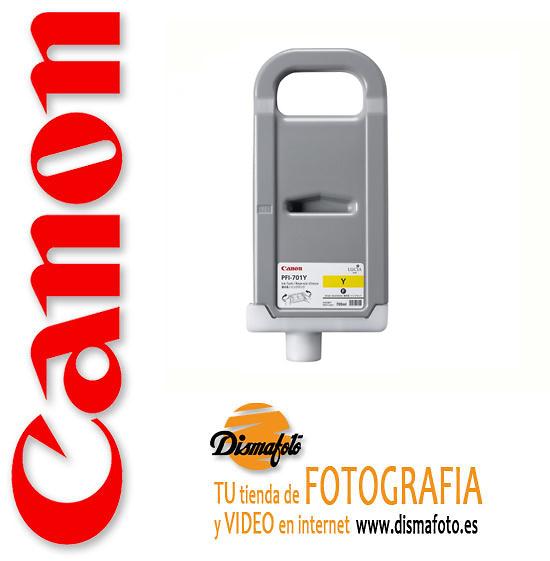 CANON CART.TINTA PFI-701 AMARILLO 700ML