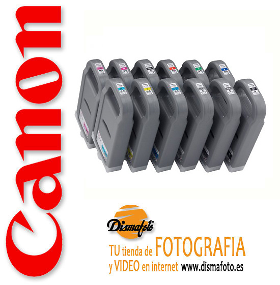 CANON CART.TINTA PFI-702 GRIS 700ML