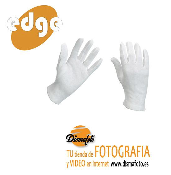 EDGE GUANTES ALGODON TALLA XL 12 PARES