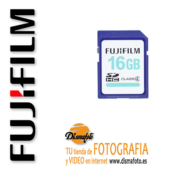 FUJIFILM TARJETA SD 16GB CLASE 4