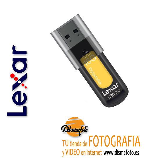 LEXAR PENDRIVE 16GB USB 3.0 JUMPDRIVE S57