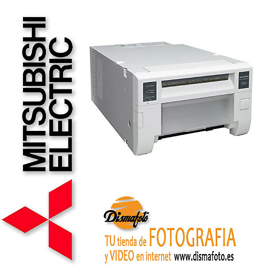 MITSUBISHI IMPRESORA CP-D80DW CABLE USB+ 1 SOFTWARE PS EVENT/STUDIO