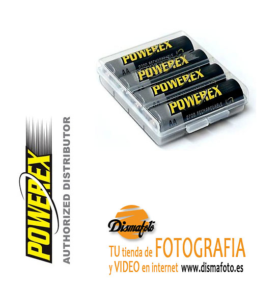 POWEREX ACUMU. PILA LR-06 2700 MAH (B 4) + ECO