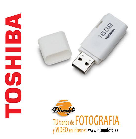 TOSHIVA PEN DRIVE USB 16GB BLANCO