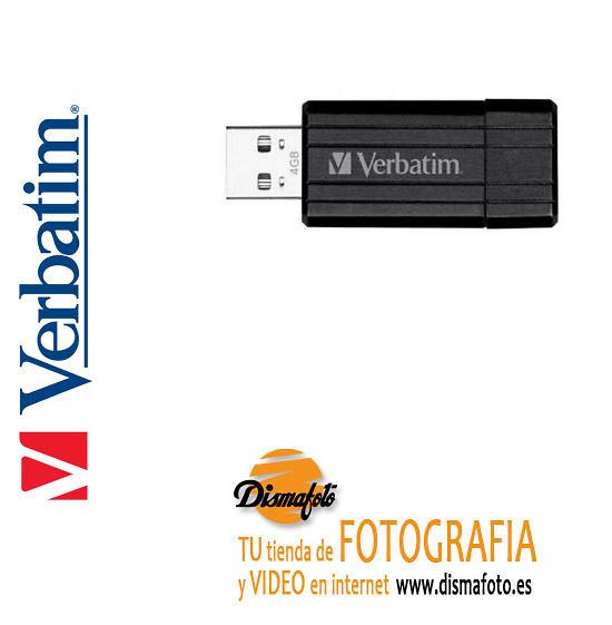 VERBATIM PENDRIVE STORE USB 2.0 4GB