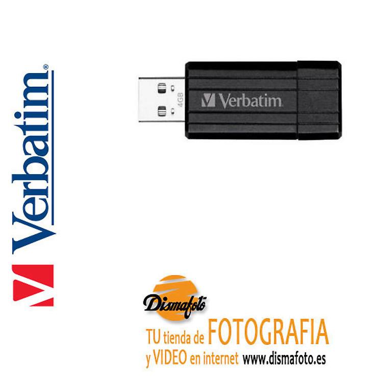 VERBATIM PENDRIVE STORE USB 2.0 8GB NEGRO
