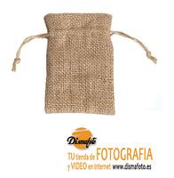 CO FUNDA TELA DE SACO ESPARTO 11X7 CM PARA USB
