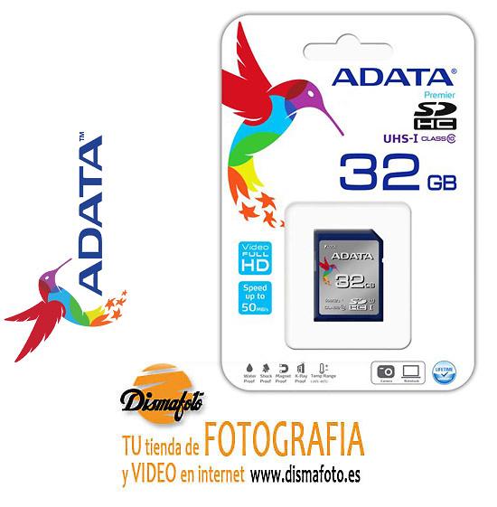 ADATA T.SD HC 32GB CLASE 10