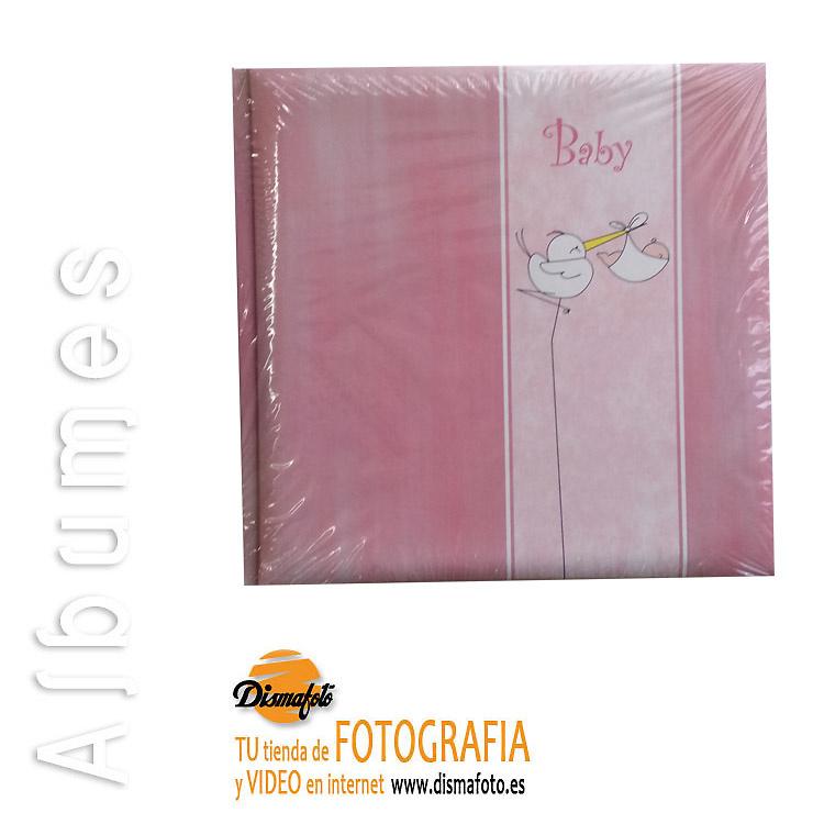 ALBUM BUL 20X25 BABY PEGAR 60F ROSA