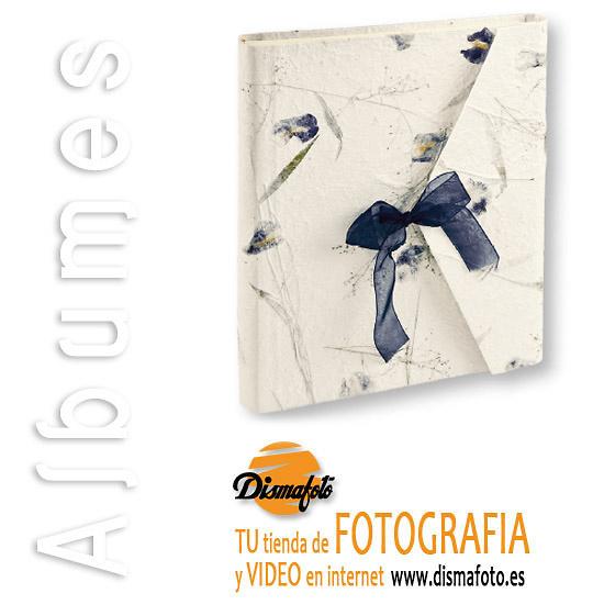 ALBUM M. BUSTA FLORES AZUL 23X23X15 (BS22)