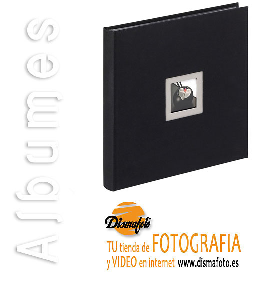 ALBUM WALTHER BLACK AND WHITE 30X30 50 HOJAS NEGRA REF. 217-B