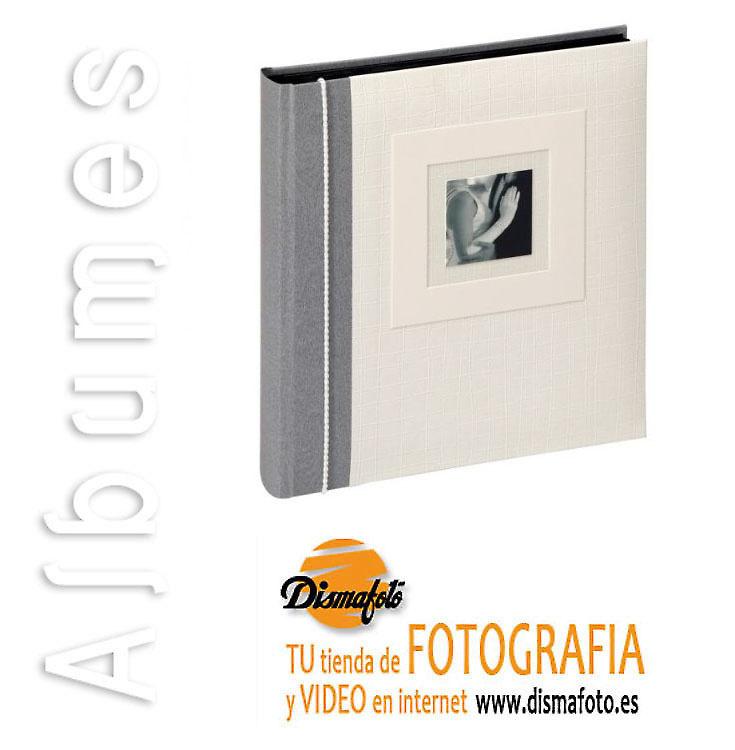 ALBUM WHALTER COUPLE GRIS/BLANCO HOJA NEGRA 28X30,5 60 HOJAS REF. FA-117