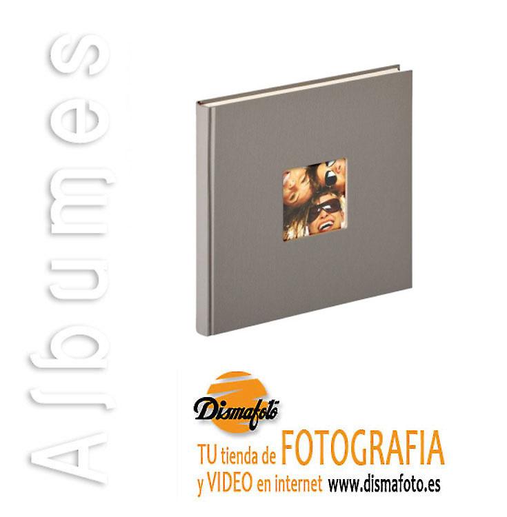 ALBUM WHALTER FUN GRIS 26X25 40 HOJAS REF. FA-205-X