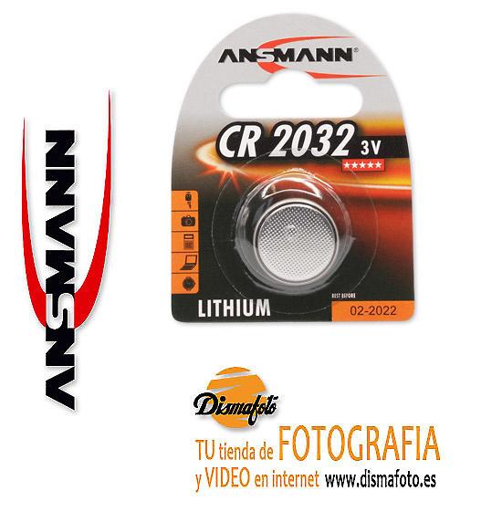ANSMANN PILA CR2032 3V + ECO