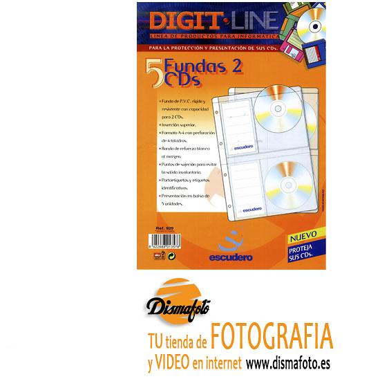 AP HOJA ESCUDERO ARCHIV. 2 CD-R+ MEMO PACK 5
