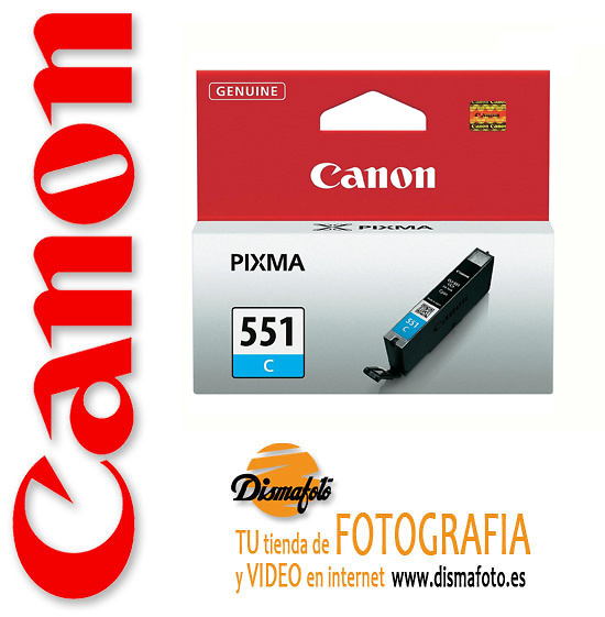 CANON CART. TINTA CLI-551 CYAN
