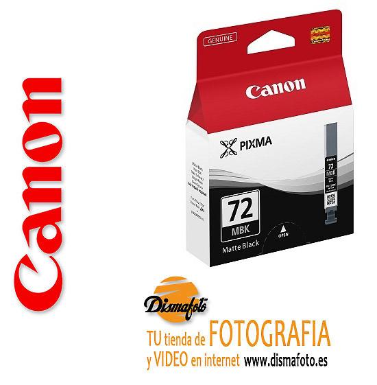CANON CART. TINTA PGI-72 NEGRO MATE PBK