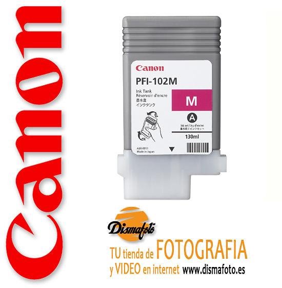 CANON CART.TINTA PFI-102 MAGENTA 130ML