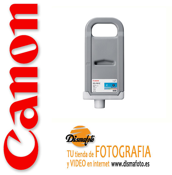 CANON CART.TINTA PFI-701 CYAN 700ML