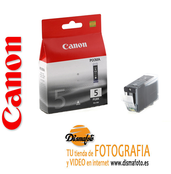 CANON CART.TINTA PGI-5BK NEGRA