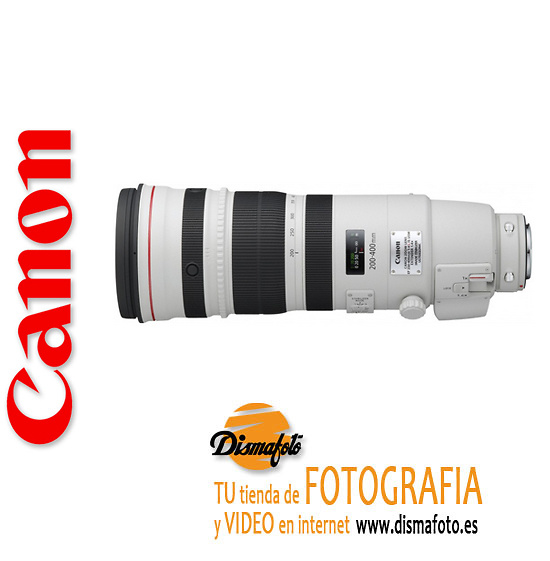 CANON OBJETIVO EF 200/400 MM F4 IS USM