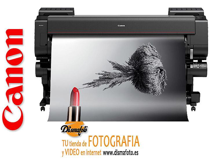 CANON PLOTTER IPF PRO-6000+ PEDESTAL+ DOBLE PORTARROLLO RU-61