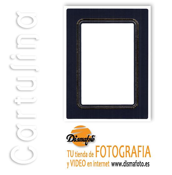 CARTULINA DU. LUXE AZUL S/TAPA 20X25 (100 U)