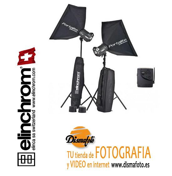 ELINCHROM KIT 2 FLASHES BRX500 DIGITALTO GO