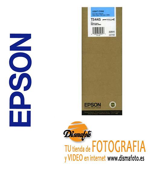 EPSON CART. TINTA T5445 CYAN CLARO 220ml