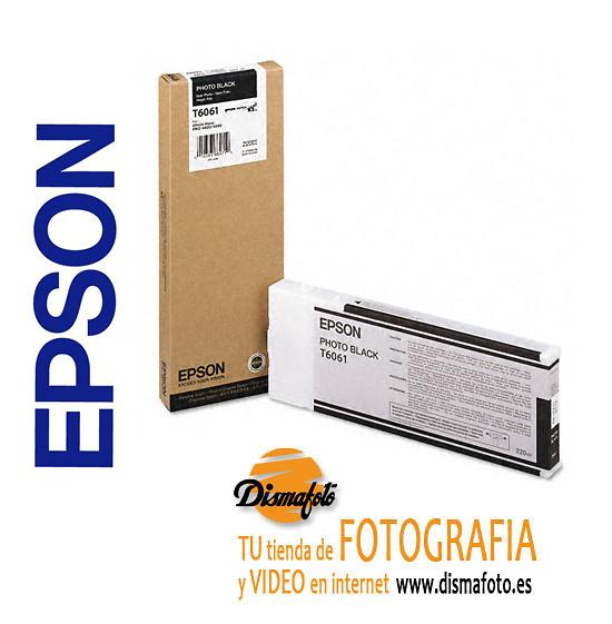 EPSON CART. TINTA T6061 NEGRO 220ml