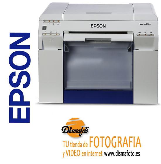EPSON IMPRESORA SURELAB SL-D700+13 BOBINAS REGALO