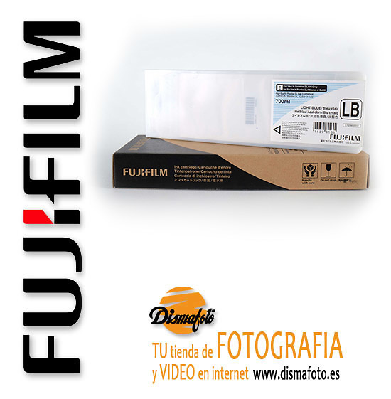 FUJI CART. TINTA DL600 LIGHT BLUE (LB) 700ML