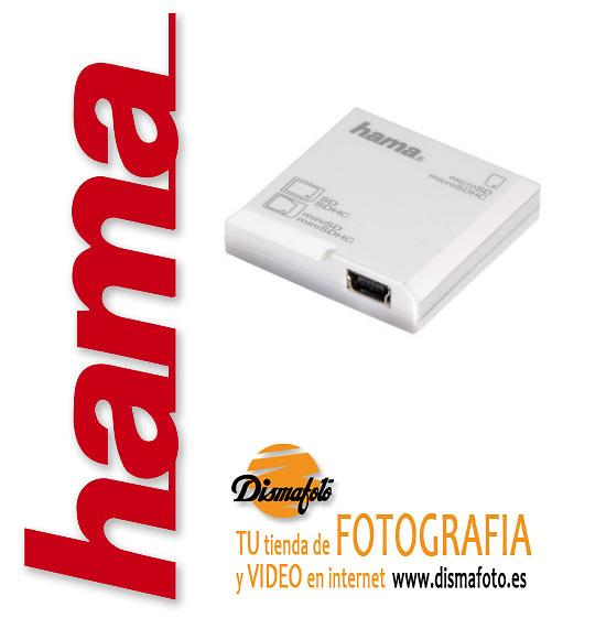 HAMA LECTOR DIGITAL SD EN 1 BLANCO