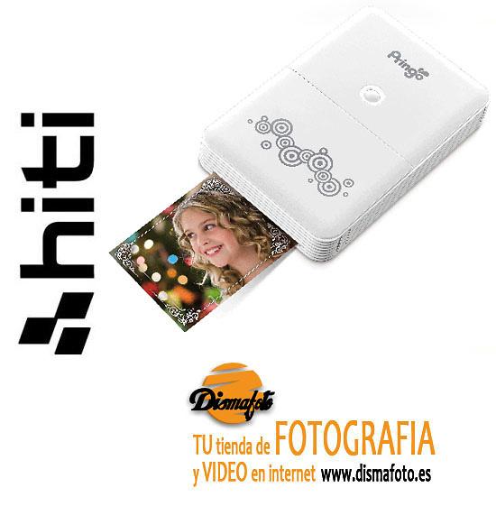 HITI IMPRESORA PRINGO P231BLANCA+1 CAJA P/30 FOTOS