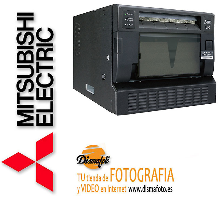MITSUBISHI IMPRESORA CP-D90DW+ CABLE USB + 1 SOFTWARE PS EVENTS SIN CARGO