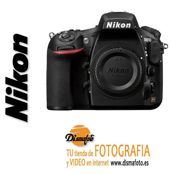 NIKON C. DIGI. D810 (CUERPO)