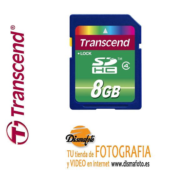 TRANSCEND T.SDHC 8 GB CLASS4
