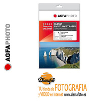 AGFAPHOTO PAPEL 180 GR 10X15 20 HOJAS GLOSSY EVERYDAY