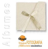 ALBUM M. BUSTA LAZO BLANCO/BEIG 23X23X15H BOOK02