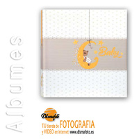 ALBUM M. MIA CREAM 24X24X20+ CAJA DE CARTON BLANCO