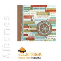 ALBUM UB PEGAR 10 H.C. 22X23 NAVIDAD ETIQUETA