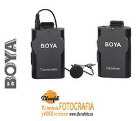 BOYA KIT MICROFONO INALAMBRICO BY-WM4